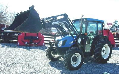 2005 New Holland TN75DA Loader 4x4 *3189 Hrs